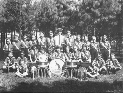 Bugle Band in 1959